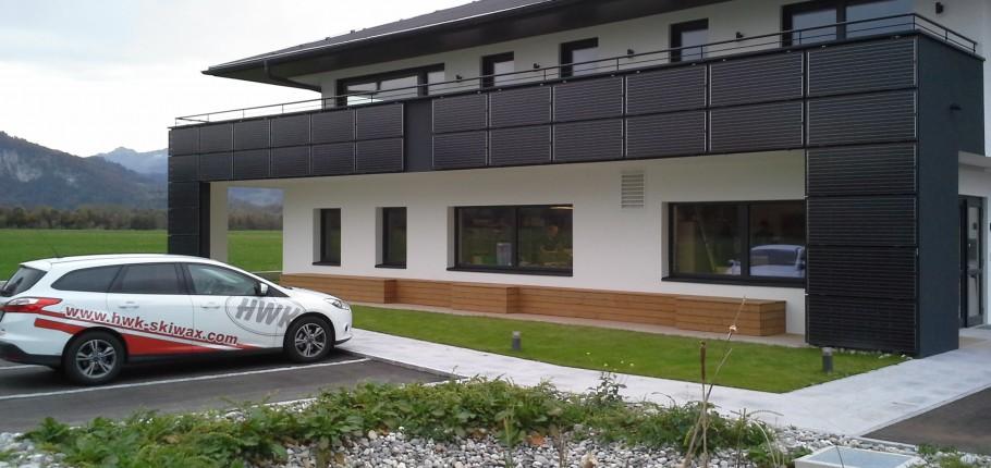 HWK-Skiwax Firmengebäude in Ebbs/Kufstein